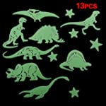 SODIAL(R) 13 PCS Glow In The Dark Sta...