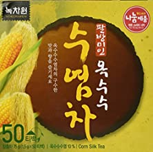 buy [Nokchawon] 100% Organic Oriental Tea Selections From Korea Corn Silk Tea 50T