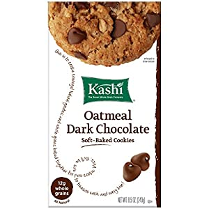 Kashi Cookies, Oatmeal Dark Chocolate, 8.5-Ounce Boxes (Pack of 3)