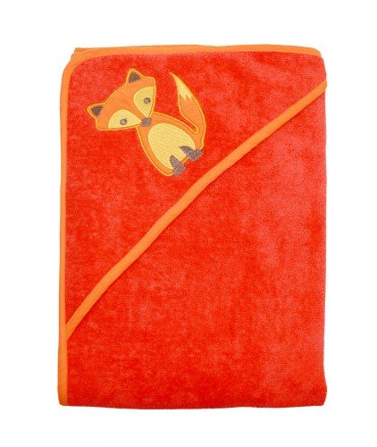 Imse Vimse Hooded Towel (Red Fox)
