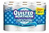 Quilted Northern Bath Tissue Soft and Strong Double Roll, 12 Count (Case of 4)