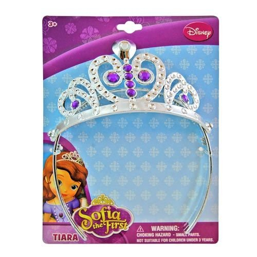 Disney Princess Sofia the First Tiara - Silver and Purple