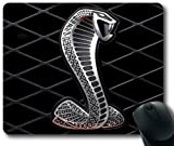 Ford-Mustang-SVT-Cobra-Logo-Car Mouse Pad, Rectangle Mousepad Designed by the Micase