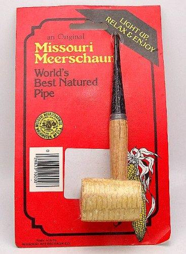 Original Missouri Meerschaum Corn Cob Pipe