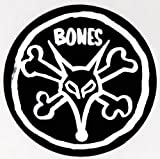Bones Wheels Vato Rat Skateboard Sticker - pope rat powell wheels bearings sk8 sticker
