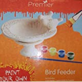Premier BA101038 Paint Your Own Bird Feeder Kit