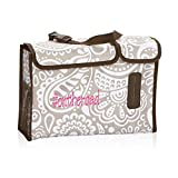 Thirty One Pack N' Pull Caddy in Taupe Playful Parade- No Monogram 4357