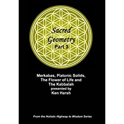 Sacred Geometry Part 3 - Merkabas, Platonic Solids, The Flower of Life ...
