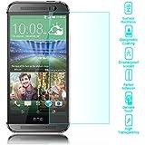 delightable24 Hartglas Schutzglas Tempered Glass Displayfolie HTC ONE M8 Smartphone - Kristall Klar