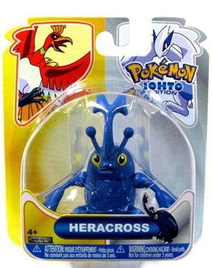 Buy Low Price Jakks Pacific Pokemon HeartGold SoulSilver Series 16 Basic Figure Heracross (B004143JDG)
