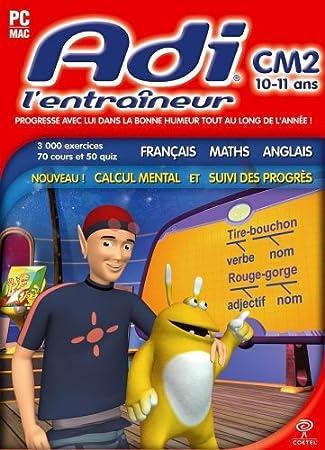 Adi l'entraineur : français, maths, anglais 2007 : CM2 (10-11 ans)