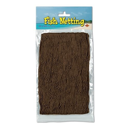 Fish Netting (brown) Party Accessory  (1 count) (1/Pkg)