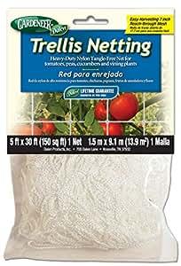 Gardeneer By Dalen Trellis Netting Heavy-Duty Nylon Tangle-Free Net 5' x 30'