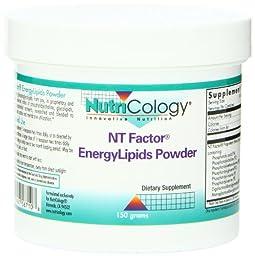 Nutricology Energylipids Powder, 150 Gram