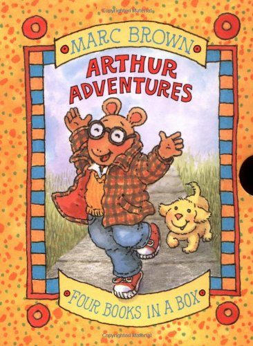 Arthur Adventures - 4 Miniature Books In A Box