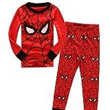 CMMY Boys Spider Man Pajama Sleepwear Tops & Trousers Sets 2-7 Y