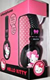 Hello Kitty Headphones - Black (HK-35609)