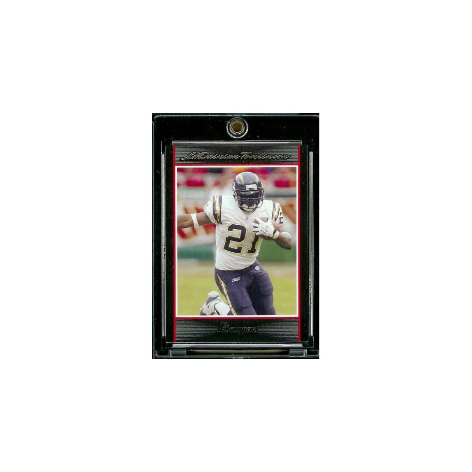 2007 Bowman # 48 Ladainian Tomlinson   San Diego Chargers   NFL