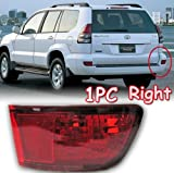 2003 2004 2005 2006 2007 2008 2009 Toyota Prado Cruiser FJ120 Tail Light Brake Fog Lamp FJ 120 Right 1pc