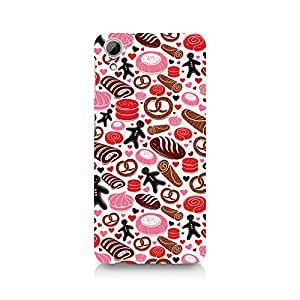 Ebby Bakery Love Premium Printed Case For HTC Desire 826