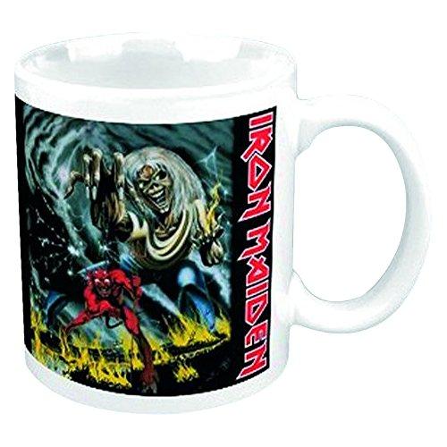 Empire Merchandising 696854Iron Maiden The Number of the Beast Tazza in ceramica, diametro 8,5cm, altezza 9,5cm