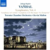 Vanhal: Symphonies, Vol.4