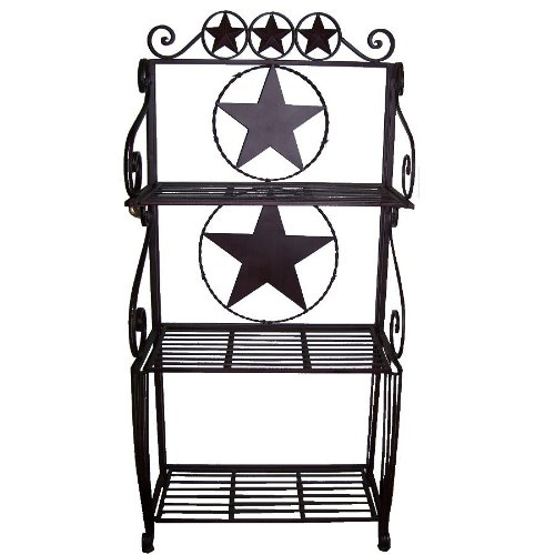Ll Home Metal Star 3 Tier Baker's Rack