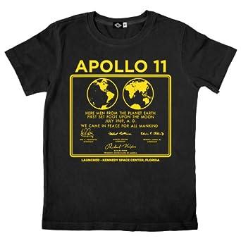 Amazon.com: Hank Player 'NASA Apollo 11' Men's T-Shirt: Clothing