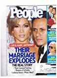 People Magazine August 2011 J.lo & Marc Anthony- Their Marriage Explodes, Nick & Vanessa's Wedding Photos, Elin Nordegren