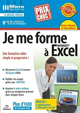 Je me forme à Excel