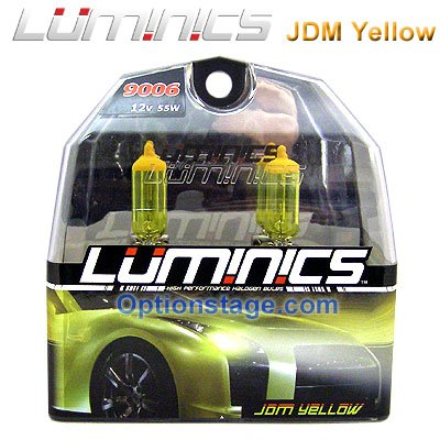Cheap Luminics JDM Yellow 9006 HB4 Halogen 2500K Headlight Fog Light Bulb W FREE LED Keychain Discount Review Shop