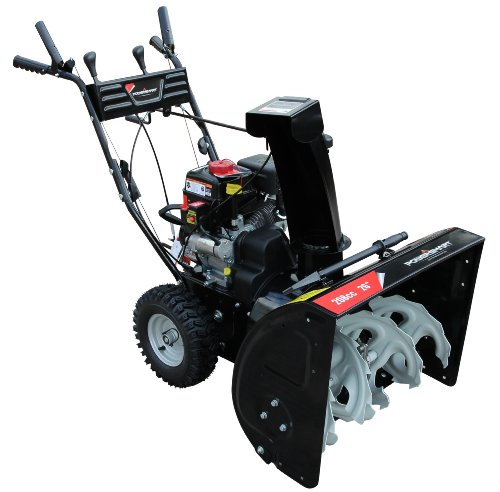 Gas Powered Snow Blowers : Get cheap power smart db a cc lct gas powered