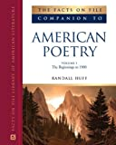 img - for The Facts on File Companion to American Poetry (Facts on File Companion to Literature) book / textbook / text book