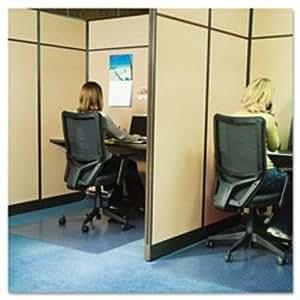 ES Robbins Anchor Bar Rectangle Chairmat Carpet Chair Mats