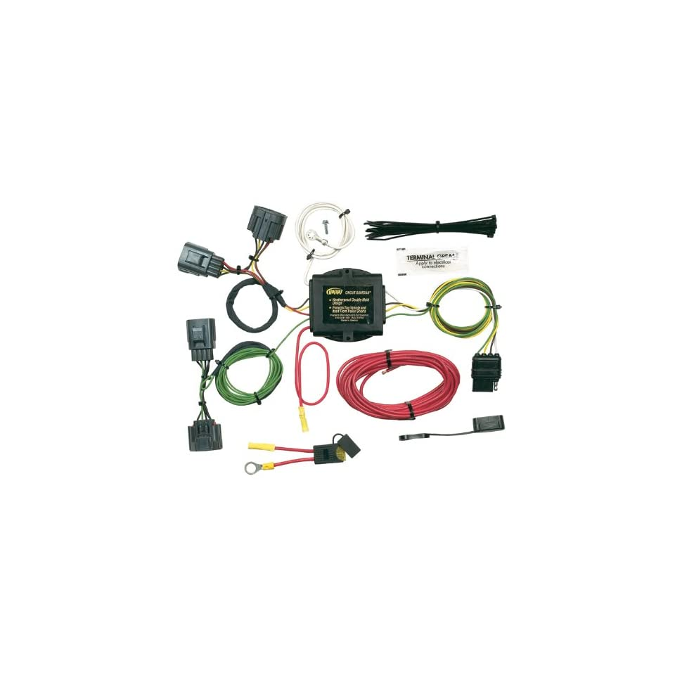 Wondrous Hopkins 42705 Vehicle To Trailer Wiring Kit For Jeep Commander On Wiring 101 Cranwise Assnl