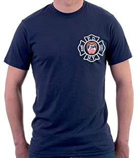 MALTESE CROSS W/FDNY ON BACK (NAVY)