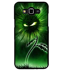 ColourCraft Flaming Eyes Flower Design Back Case Cover for SAMSUNG GALAXY GRAND MAX G720