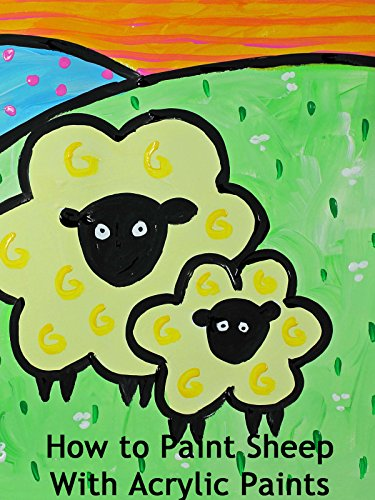How to Paint Sheep With Acrylic Paints