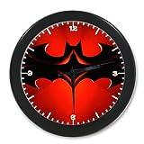Home Decor Unique Cool Super Hero Batman Digital Quartz Wall Clock 9.65 Inch