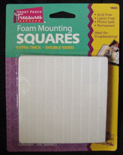 Find Cheap Foam Mounting Squares Double Sided Extra Thick Small 200 Squares Per Package