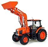 Universal Hobbies - UH4192 - Modélisme - Tracteur - Kubota M 135 GX avec Chargeur Fro