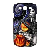 Custom Personalized Disney The Nightmare Before Christmas Series Jack Skellington 3D Skull Smooth Durable Plastic SamSung Galaxy S3 I9300/I9308/I939 Case