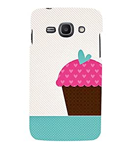 animated pink ice cream cone print 3D Hard Polycarbonate Designer Back Case Cover for Samsung Galaxy Ace 3 :: Samsung Galaxy Ace 3 S7272