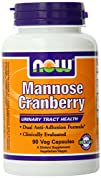 Now Foods Mannose Cranberry Capsules 90 Count
