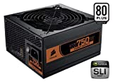 Corsair CMPSU-750TX 750-Watt TX Series 80 Plus Certified Power Supply compatible with Intel Core i7 and Core i5