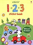 Sam Taplin 123 Sticker Book (Usborne Sticker Books)