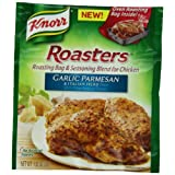 Knorr Roasters Roasting Bag and Seasoning Blend for Chicken, Garlic Parmesan and Italian Herb, .82-Ounce Packages...