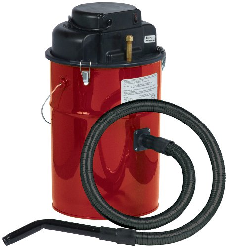 Dustless Technologies MU405R Cougar Ash Vacuum, Red