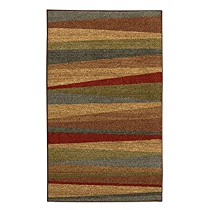 Mohawk Mohawk New Wave Mayan Sunset Rug, Tan, Synthetic, 1.6 x 2.8 ft.
