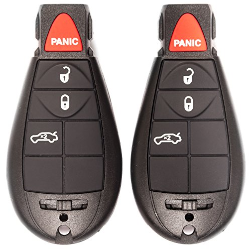 NEW Key Fob Remote Transmitter 4 Button SET of 2! (2010 Dodge Journey Fob compare prices)